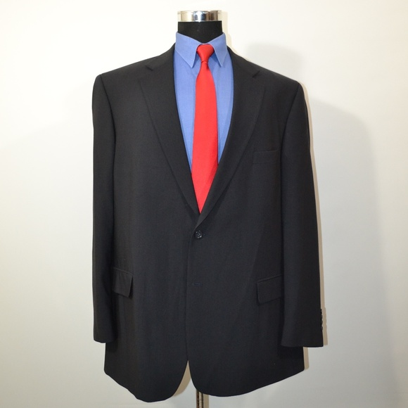 Pronto Uomo Other - Pronto Uomo 50L Sport Coat Blazer Suit Jacket Blac